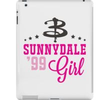 Sunnydale Girl iPad Case/Skin