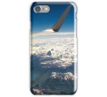 High Above the North Face iPhone Case/Skin