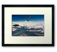 High Above the North Face Framed Print