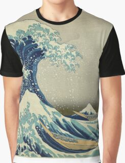 Vintage poster - The Great Wave Off Kanagawa Graphic T-Shirt