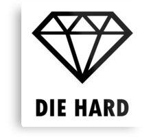 Die Hard Metal Print