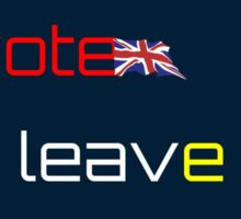 Leave EU Sticker Sticker