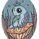 Little Blue Caterpillar by Anita Inverarity