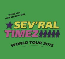 SEV'RAL TIMEZ - World Tour 2013 One Piece - Short Sleeve