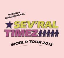 SEV'RAL TIMEZ - World Tour 2013 Kids Tee