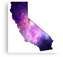 California Galaxy Canvas Print