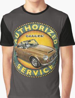 Datsun 2000 Authorized Service Graphic T-Shirt