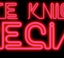 Late Knight Special - Kirk Knight Sticker