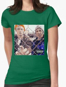 The Office: Lazy Scranton Album Shirt Womens Fitted T-Shirt