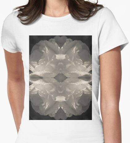 Whiter shade of pale IV Womens Fitted T-Shirt