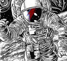 Bowie Star Man by MontyBorror