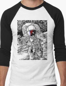 Bowie Star Man Men's Baseball ¾ T-Shirt