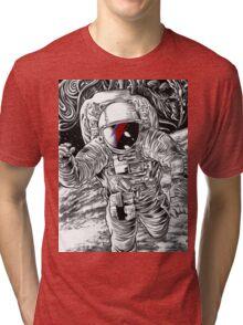 Bowie Star Man Tri-blend T-Shirt