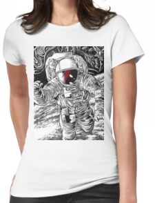 Bowie Star Man Womens Fitted T-Shirt
