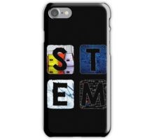 STEM Square (Dark) iPhone Case/Skin