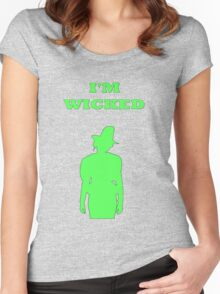 Rebecca Mader (Zelena) Women's Fitted Scoop T-Shirt