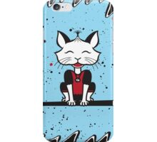 A Cat's World of Calligraphy iPhone Case/Skin
