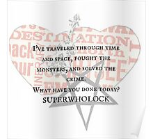 SUPERWHOLOCK all in a day's work Poster