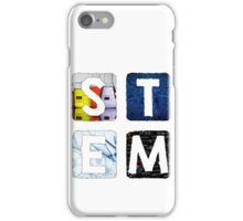 STEM Square (Light) iPhone Case/Skin