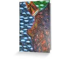 Monster 2 - Abstract Greeting Card