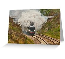 All Aboard and Bound for Abroad Greeting Card