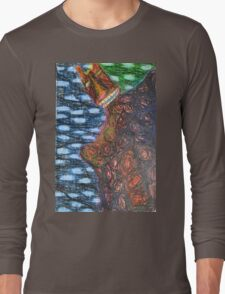 Monster 2 - Abstract Long Sleeve T-Shirt