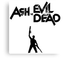 Ash vs Evil Dead - Title and Character Canvas Print