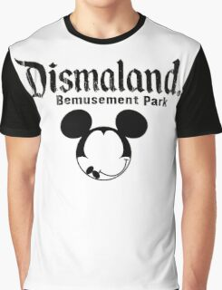 Dismaland Mickey Graphic T-Shirt