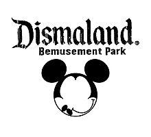 Dismaland Mickey Photographic Print