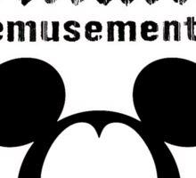 Dismaland Mickey Sticker
