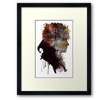David Bowie // Labyrinth // Jareth the Goblin King Framed Print
