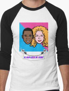 RJ and Lizzie Do Stuff Men's Baseball ¾ T-Shirt