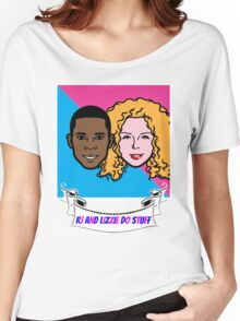 RJ and Lizzie Do Stuff Women's Relaxed Fit T-Shirt