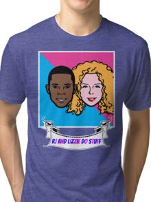 RJ and Lizzie Do Stuff Tri-blend T-Shirt