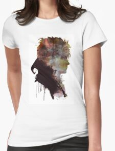 David Bowie // Labyrinth // Jareth the Goblin King Womens Fitted T-Shirt