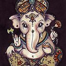 Ganesha by Anita Inverarity