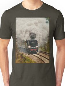 All Aboard and Bound for Abroad Unisex T-Shirt