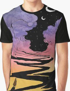 Techno Colour Desert Nomad Graphic T-Shirt