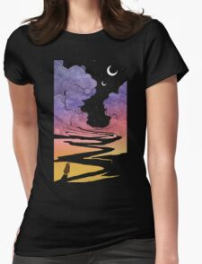 Techno Colour Desert Nomad Womens Fitted T-Shirt