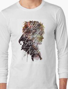 David Bowie // Labyrinth // All Hail the Goblin King Long Sleeve T-Shirt