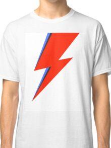 Aladdin Sane Lightning Flash  Classic T-Shirt