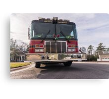 Big Red  fire truck  Canvas Print