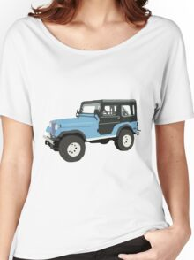 Roscoe the Jeep! Women's Relaxed Fit T-Shirt