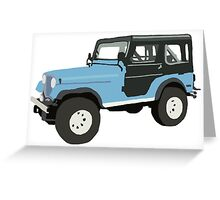Roscoe the Jeep! Greeting Card