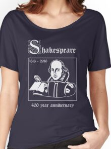 Shakespeare -- 400 Year Anniversary Women's Relaxed Fit T-Shirt