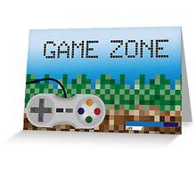 Game Zone Greeting Card