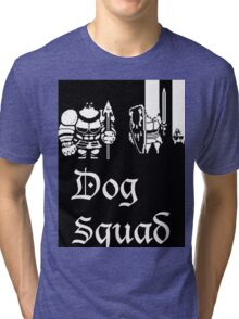 Undertale Dog squad Tri-blend T-Shirt