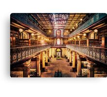Let's Retire To The Library (EH) Canvas Print