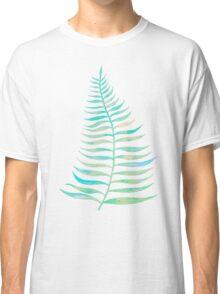 Palm Leaf – Sea Foam Palette Classic T-Shirt