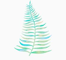 Palm Leaf – Sea Foam Palette T-Shirt